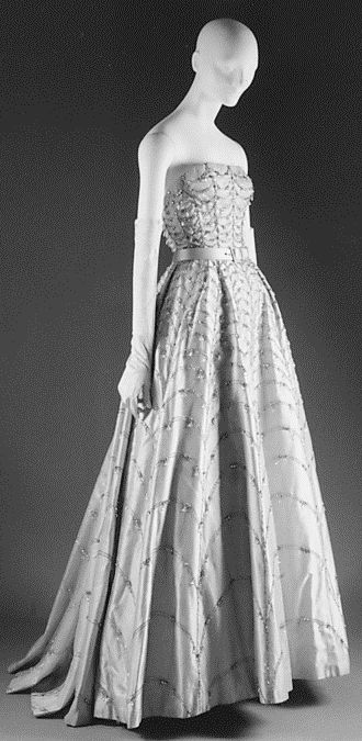 Ball gown  House of Dior  (French, founded 1947)  Designer: Christian Dior (French, Granville