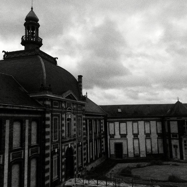 Le Musée de #Louviers, sous la pluie :-(