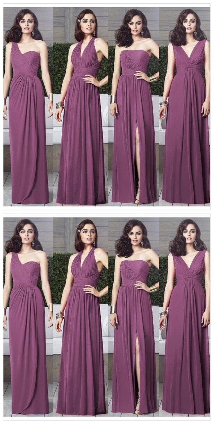 639 best Bridesmaid Dresses | Damas de honra images on Pinterest ...