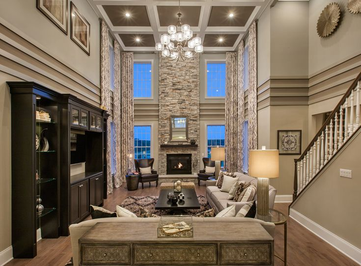 Toll Brothers   The Hampton Family Room