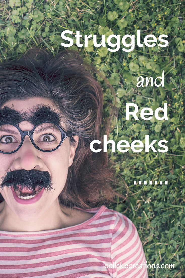 Struggles and red cheeks...how to overcome an awkward situation we have all been in