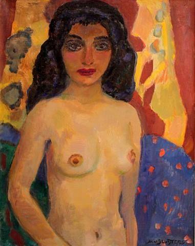 Odalisque - Jan Sluyters 1920
