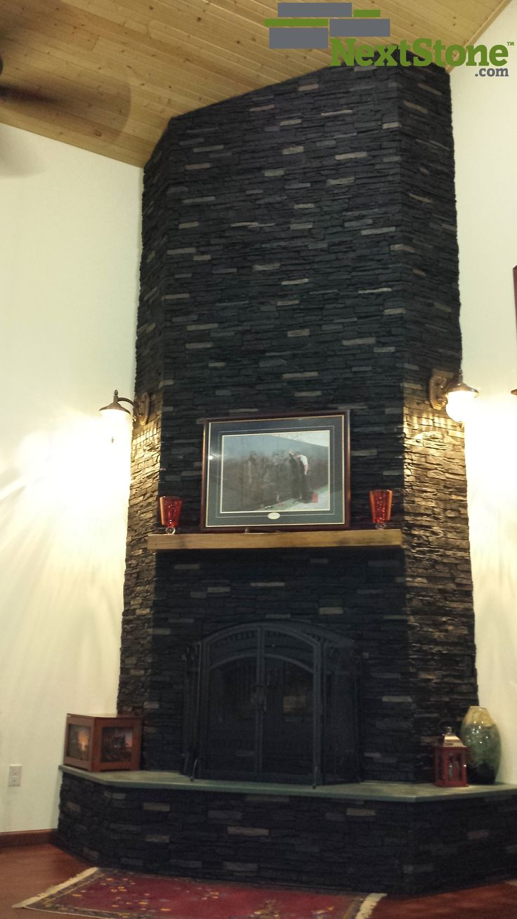 16 best stone fireplaces surrounds images on pinterest fireplace