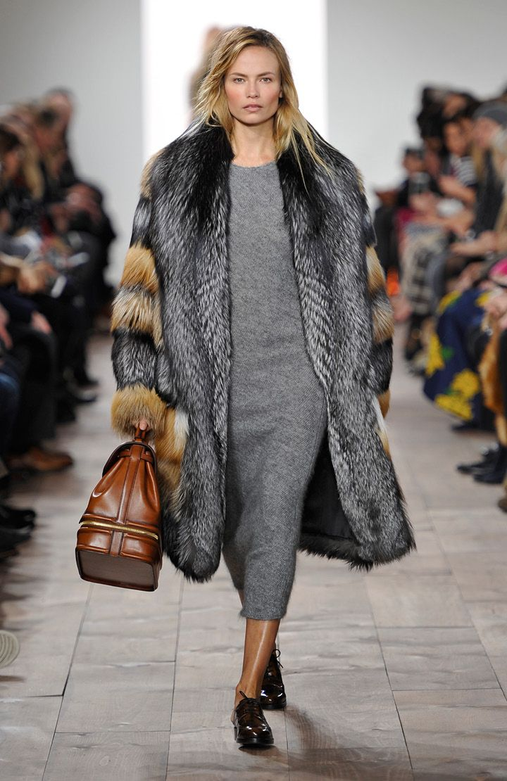 Look 1 from the Michael Kors Fall 2015 Collection. #AllAccessKors