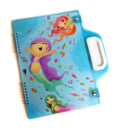A4 Carry Pad - Mermaids