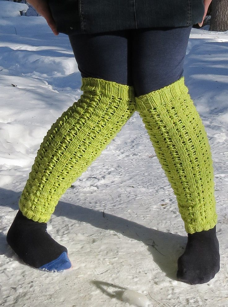 Knitting Patterns Leg Warmers Ballet : Legwarmer Knitting Patterns