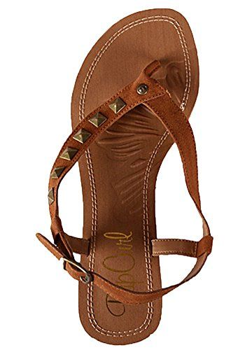 You don't have to bulk up to wear these Stud Sandals. • Metal free Suede leather upper. • PU lining. • Footbed: Fiber. • Outsole: EVA and rubber. - EVA: Ethylene Vinyl Acetate an easily molda...
