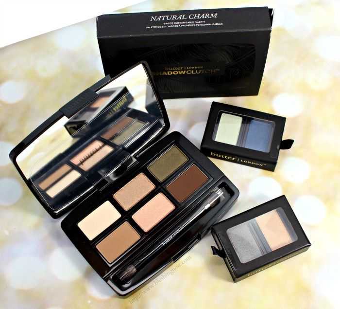 butter LONDON Natural Charm Shadow Clutch Palette Review