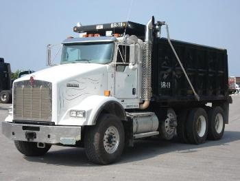 USED 2009 #KENWORTH Dump Truck T800 Dump #Truck for sale