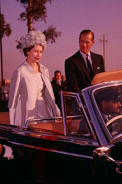 The Quuen and Prince Philip in Delhi 1961