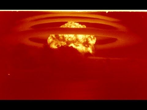 HD most powerful nuclear explosion by U.S.A Operation Castle Bravo 15 MT...