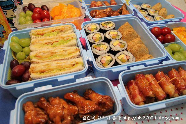 엄마정성으로 만든 봄소풍 도시락 *^^* – 레시피 | Daum 요리
