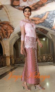 Amazing pink kebaya modern dress pink 2016