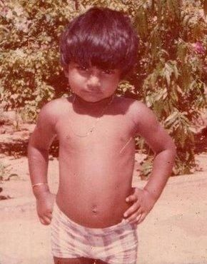 Rare Childhood Picture of Salman Khan.   PINKVILLA