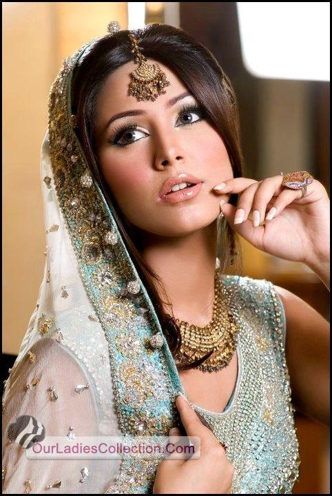 Latest Pakistani Fashion,Bollywood Fashion,Hollywood Fashion,Ladies Fashion,Men Fashion.: Beautiful Bridal Faces 2012 Makeup