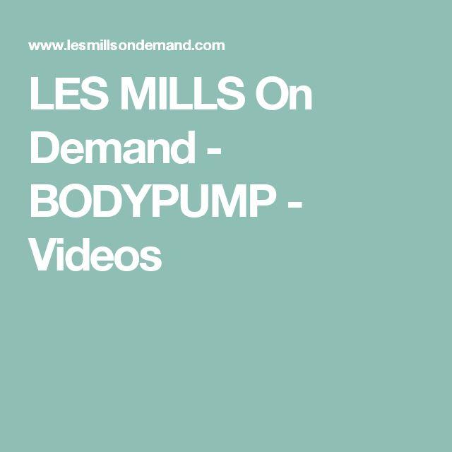LES MILLS On Demand - BODYPUMP - Videos