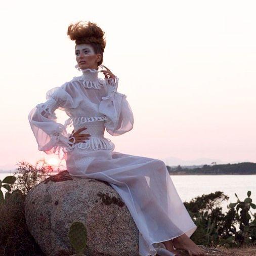 #fashion#model#shoot#white#organdis#chic#brides#couture#trend#sea#sardinia#handmade#moda#madeinitaly#picoftheday#sardinia#instafashion#laboratoriostilistico#
