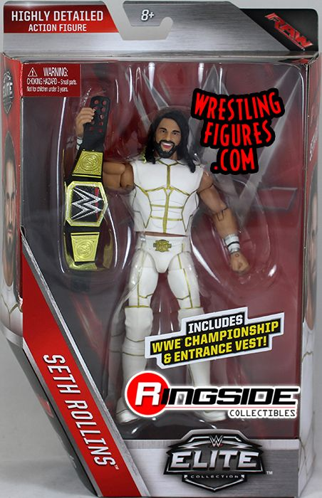 Seth Rollins - WWE Elite 45 WWE Toy Wrestling Action Figure