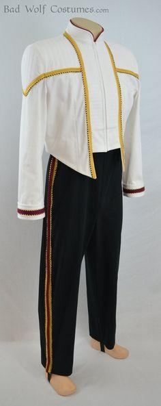 Star Trek DS9/NEM Men's Formal Uniform Sewing Pattern by BadWolfCostumes