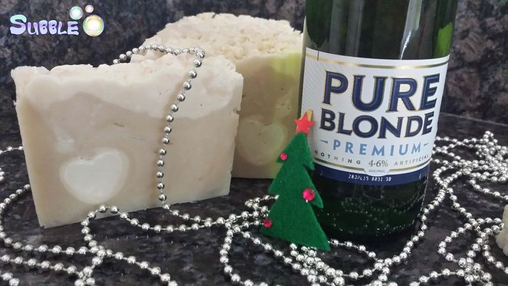 Pure Blonde Beer Soap