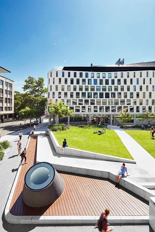Article by Joanna Łaska – UTS Alumni Green by ASPECT Studios, in UTS City Campus, Ultimo, Sydney, NSW, Australia