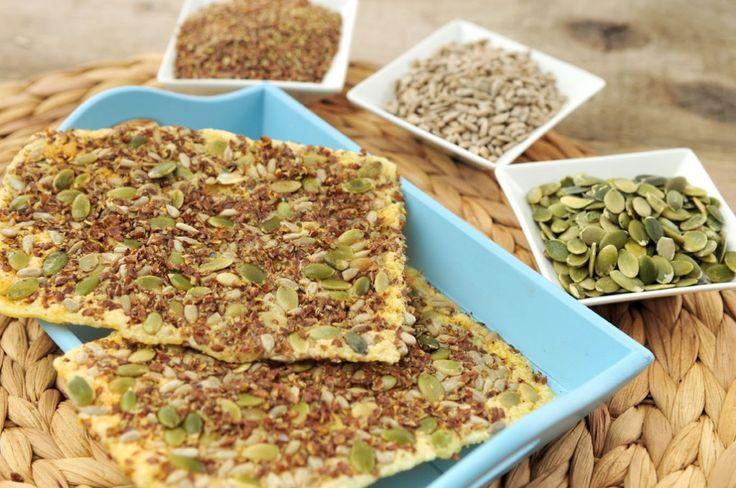 crackers van zaden en pitten