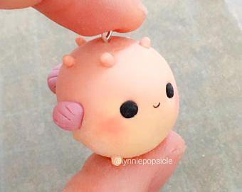 Image result for fish kawaii clay