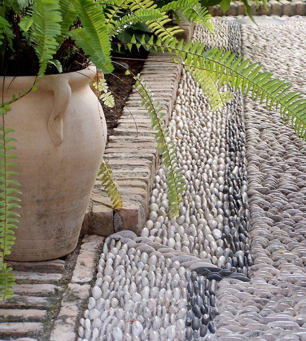 12 best Pebble pathways images on Pinterest | Carpets, Flowers and ...