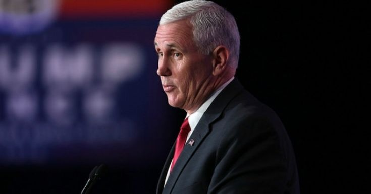Records obtained by the Indianapolis Star show that Vice President Mike Pence was hypocritically using a private email address to conduct state business at the same time that he joined the chorus of Republicans condemning Democratic presidential candidate Hillary Clinton for