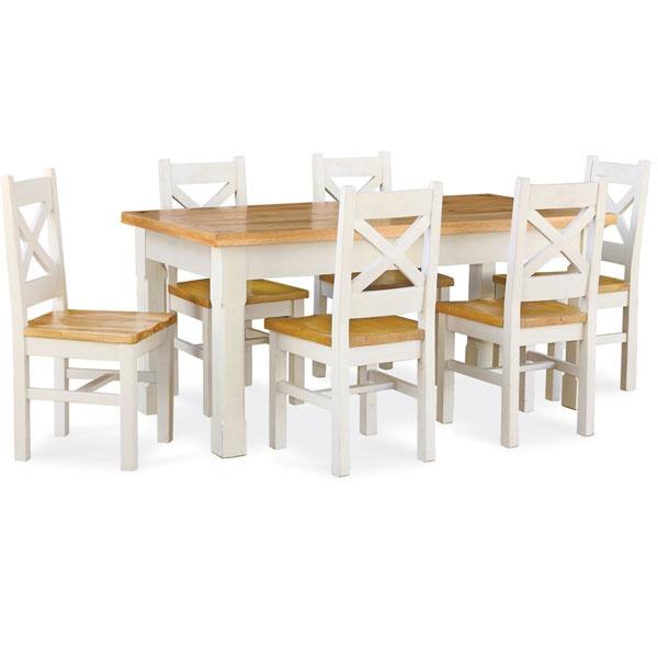 Salcombe Oak Small Extending Dining Table (£350)
