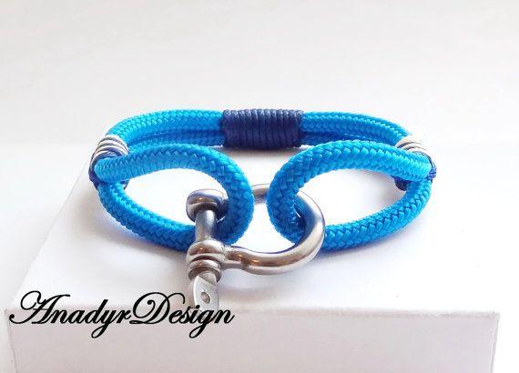 men bracelet, Unisex bracelet,Anchor bracelet,Men jewelry,Gift for Him,gift ideas, paracord bracelets, Men's bracelets, Nautical bracelet
