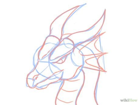 Image titled Draw a Dragon Head Step 8