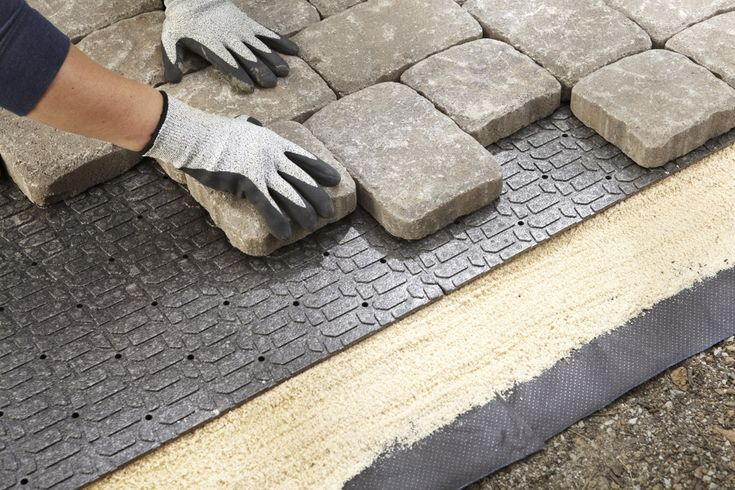 patio ideas using gravel   Patio Block Accessory Buying Guide