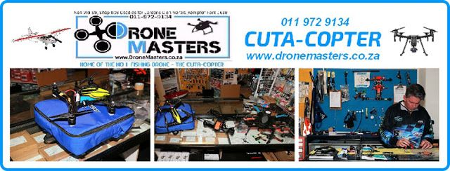 New Dimensions: Fishing Drone, And More, By Dronemasters