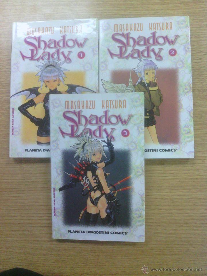SHADOW LADY COLECCION COMPLETA (3 TOMOS - PLANETA) $14
