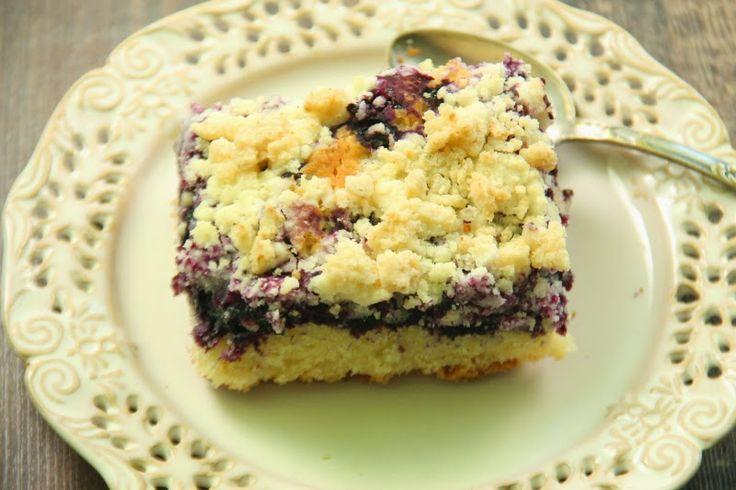 Kuchnia w wersji light: Bezglutenowe ciasto drożdżowe z owocami i kruszonk...
