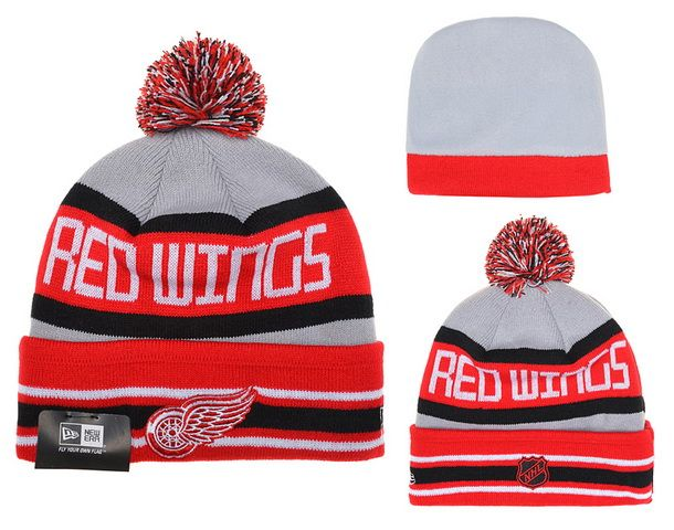 NHL Red Wings New Era Beanies Knit Hats