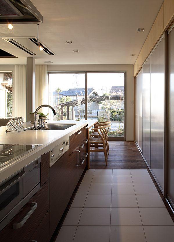 茨城和風×モダン改修住宅【Modern Ibaraki-style house】  #igawa_arch #architecture #house #kitchen
