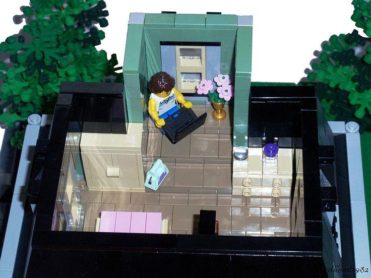 LEGO furniture - Beautiful LEGO interiors - A Lego a Day