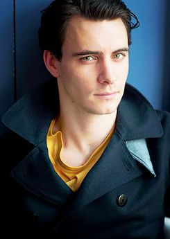 Harry Lloyd-- he would make a damn fine Master to Capaldi's Doctor.