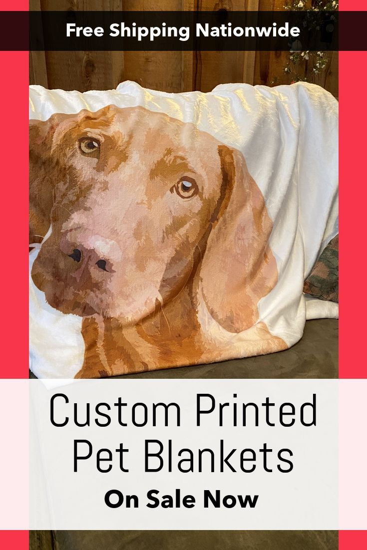 Custom Pet Blanket Pets Cute Baby Animals Dog Gifts