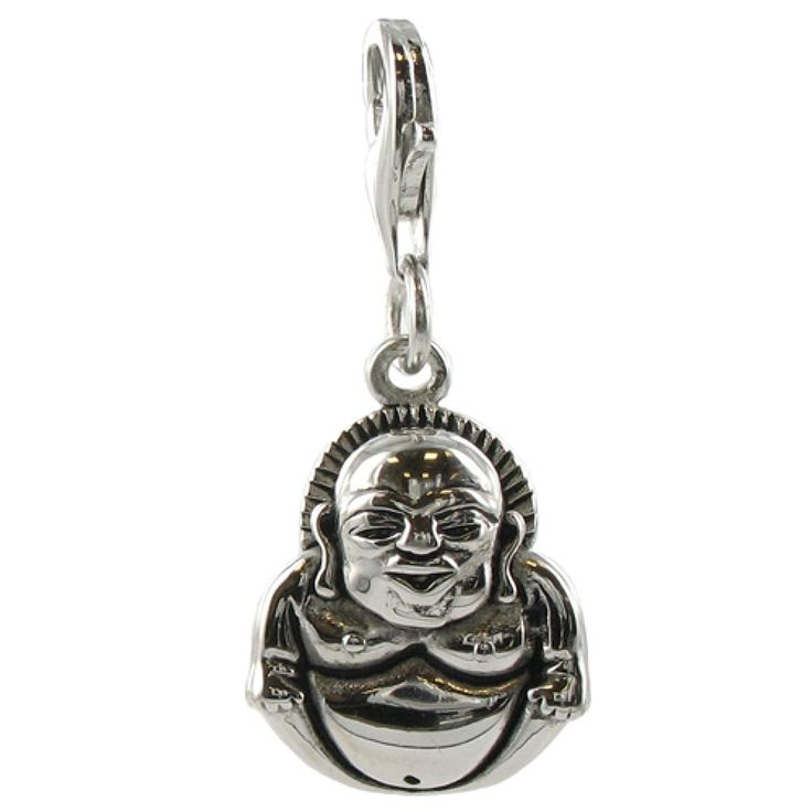 Oscaro Charms 925 Sterling Silver Buddha Clip on Charm for Thomas Sabo style bracelets and necklaces * You can find more details by visiting the image link. #Charms