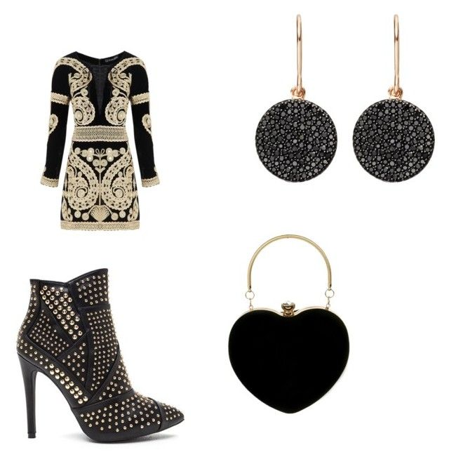 """""""b-day"""" by missfede on Polyvore featuring moda, For Love & Lemons e Astley Clarke"""