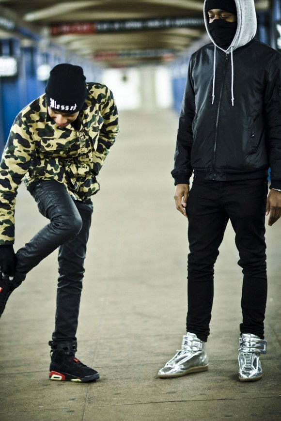 Urban Ninjas Skinny Jeans & Jordans