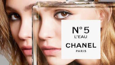 French atelier Chanel is investigating paradoxes in a mixed media push on Instagram as it works to introduce N°5 L'Eau.    Developed over the course of three years by Chanel's in-house perfumer Olivier Polge, N°5 L'Eau is a lighter interpretation of the brand's iconic N°5 scent. Chanel created N°5 L'Eau as a youthful retelling, as the original N°5 fragrance is often associated with older generations, which has likely prevented sales from the millennial market demographic.