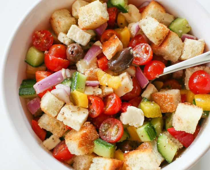 23 Best Images About Panzanella Salad On Pinterest Greek