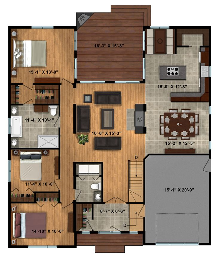 Double Sink Bathroom Floor Plans 84 best house plans images on pinterest | house floor plans, dream