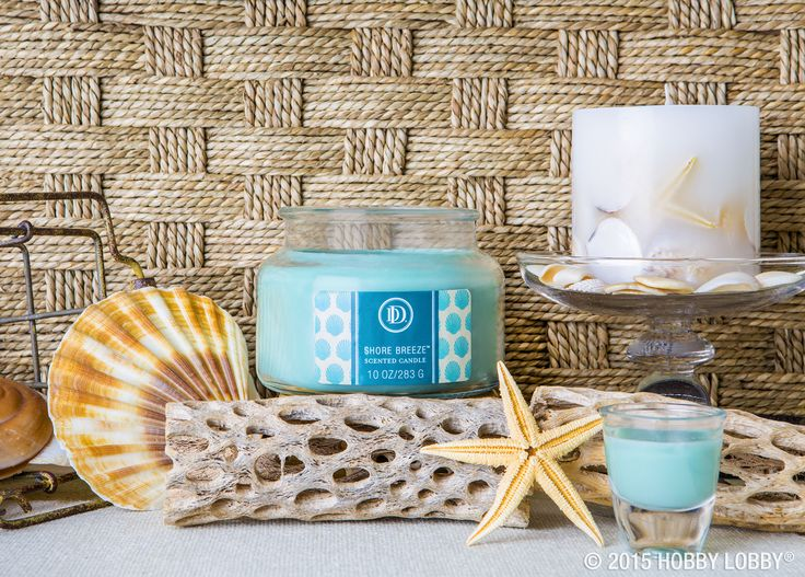 Sand sun and seashells let our shore breeze candle remind you of everything you love about Pinterest everything home decor