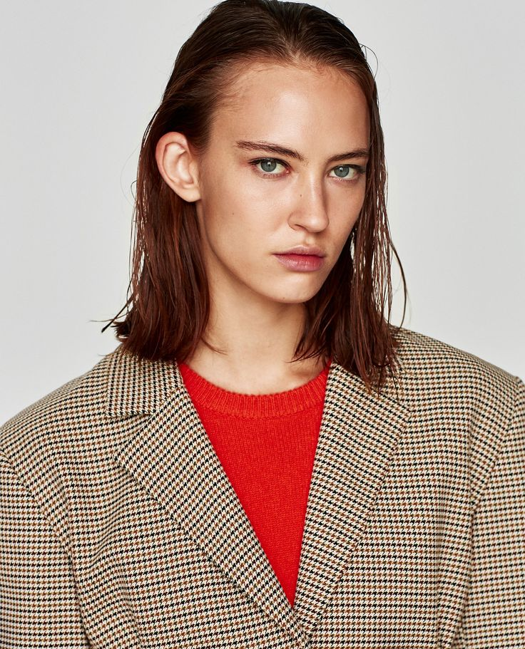 Immagine 4 di GIACCA A QUADRI PINCES di Zara