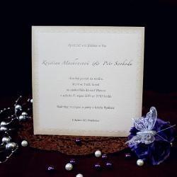 Svatební oznámení W535